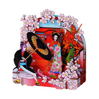 3Dペーパーパズル 歌舞伎