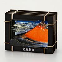 3D Paper Puzzle, Fine Wind, Clear Morning (Katsushika Hokusai)