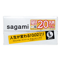 Condoms Sagami Original 002, L Size (10)