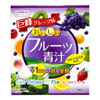 YUWA Delicious Fruit Aojiru, Daily Iron + Folic Acid