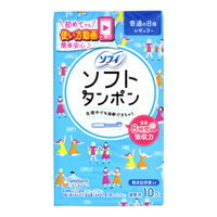 Sofy Soft Tampons, Regular, 10