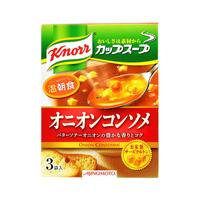 Ajinomoto Knorr Cup Soup Onion Consommé Ajinomoto 3 Packs