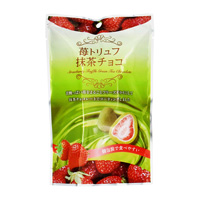 苺トリュフ 抹茶チョコ (個包装) 60g