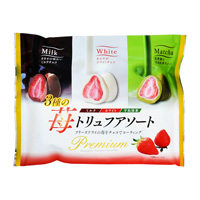 Strawberry Truffle Chocolate Assort 180g