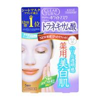 CLEAR TURN White Mask Tranexamic Acid (5 Masks)