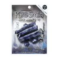 Sun Smile Pure Smile Essence Mask Black Mineral Series Charcoal