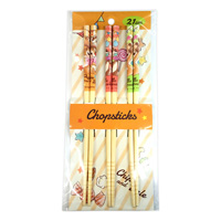 Disney Chopsticks 3P-Set Chip & Dale
