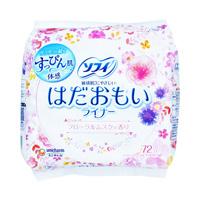 SOFY Hadaomoi Pantyliner Floral Musk Fragrance (72 units)