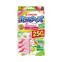 KINCHO MUSHIKONAZU Aroma Plate Type 250 days Fresh Floral Fragrance