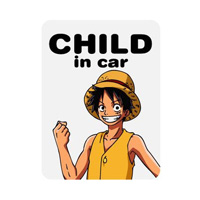 LCS-051 CHILD in car-Luffy2