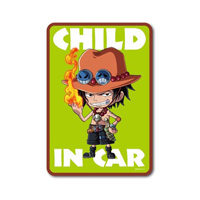 LCS-522/ CHILD IN CAR/ Ace/ One Piece Sticker