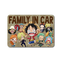 LCS-525/ FAMILY IN CAR/ Group/ One Piece Sticker