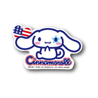 LCS-411 Cinnamoroll/ Flag Sticker