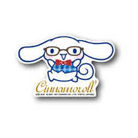 LCS-412 Cinnamoroll/ Glasses Sticker
