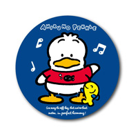 LCB-194 Ahiru No Pekkle 76mm Button Badge/ Sanrio Nostalgic Series