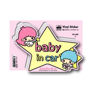 LCS-062 Kiki & Lala Baby In Car Sticker