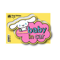 LCS-065 Cinnamoroll Baby In Car Sticker