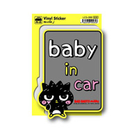 LCS-068 酷企鹅 Baby in car 贴纸