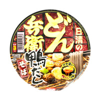 Nissin Donbei Duck Dashi Soba, New Spring Onion Cup 105g