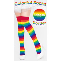 Colorful Striped Socks (Rainbow)