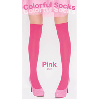 Colorful Socks (Pink)