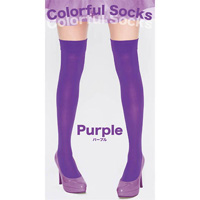 Colorful Socks (Purple)