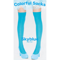 Colorful Socks (Sky Blue)