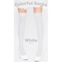 Colorful Socks (White)