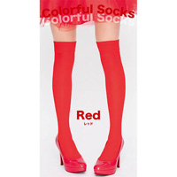 Colorful Socks (Red)