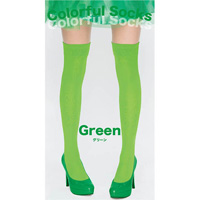 Colorful Socks (Green)