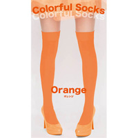 Colorful Socks (Orange)