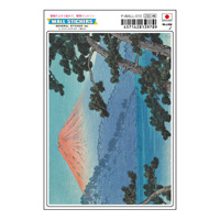 P-WALL-010/ Wall Sticker (Postcard Size)/ UKIYOE/ Ukiyoe Series/ Kawase Hasui