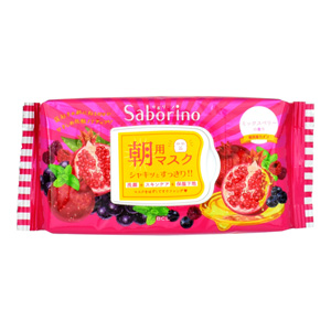 Sabolino Eye-condition sheet High moisturizing type of ripe fruit 28 sheets