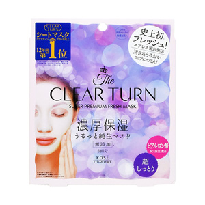 Clear Turn Premium Fresh Mask Super Moist 3 Sheets