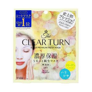 Clear Turn Premium Fresh Mask Haritsuya 3 Sheets