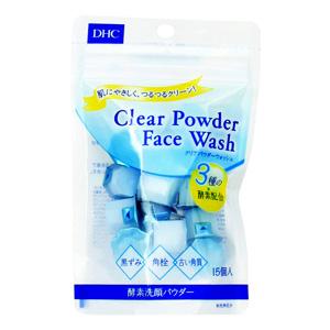 DHC Clear Powder Wash (0.4 g x 15 pieces)