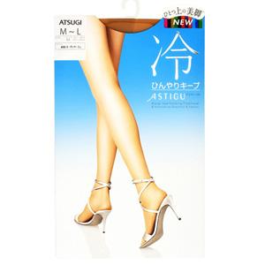 ASTIGU (cool texture) cool texture lasting pantyhose for summer (Nudie Beige)(433) M-L