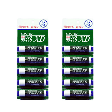 Mentholatum Medicinal Lipstick XD 4g *10