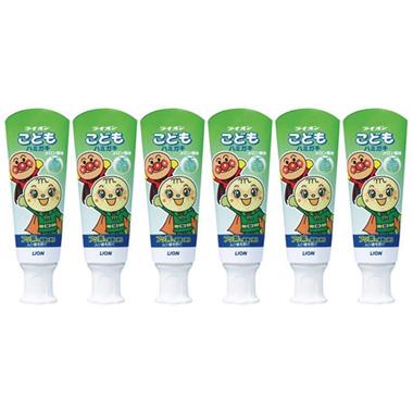 Lion Children Toothpaste Melon (40g)*6