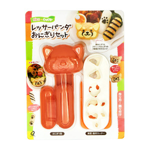 Red Panda Onigiri Rice Ball Set