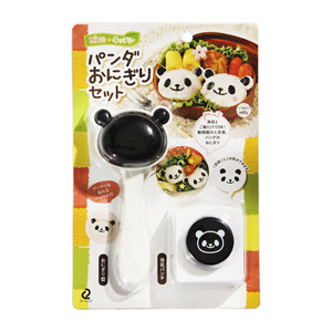 Panda Onigiri Rice Ball Set
