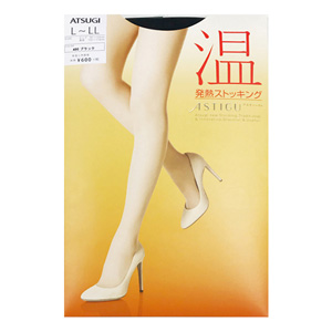 ASTIGU  [Warm] Thermal stockings (Black 480) L ~ LL