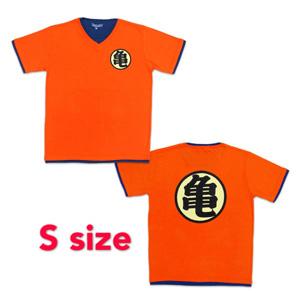 Dragon Ball Z T-shirt 「亀」 S orange