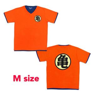 Dragon Ball Z T-shirt 「亀」 M orange