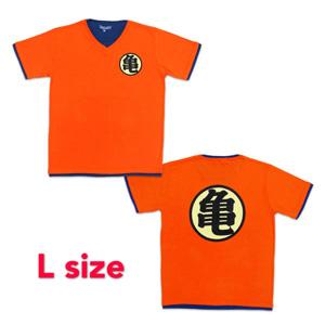 Dragon Ball Z T-shirt 「亀」 L orange