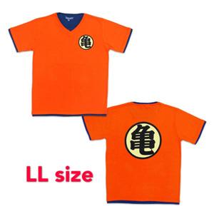 Dragon Ball ZT-shirt 「亀」 LL orange