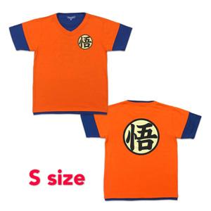 Dragon Ball Z T-shirt 「悟」 S orange