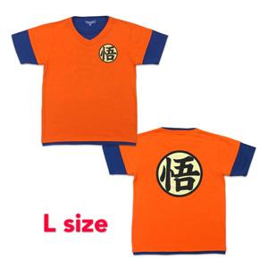 Dragon Ball Z T-shirt 「悟」 L orange