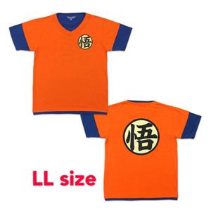 Dragon Ball Z T-shirt 「悟」 LL orange