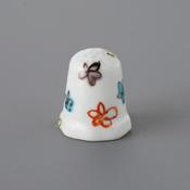 Kutani Thimble 087 Reiko Tsurumaki Piece, Flower